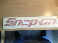 snap on stickers large snap on toolbox stickers £5 each
