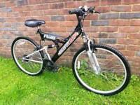 Adults harlem mountain bike hardly used