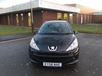 2008 Peugeot 207 1.4 petrol 12 months mot and 3 months parts and labour warranty