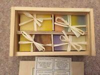 Caroline De Rothschild Handmade Soaps in Wooden Box