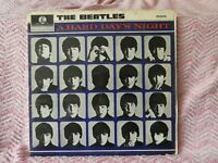 Beatles, A Hard Days Night LP and EP + Beatles Hits EP