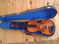 3/4 size violin - excellent condition