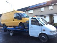 Mercedes Benz sprinter 412D Recovery 1996 year
