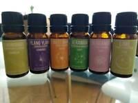 Set of essential oils
