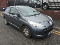 2009 Peugeot 207 1.4 S 3dr (a/c) Hatchback, Warranty & Breakdown Available, £1,995 p/x welcome