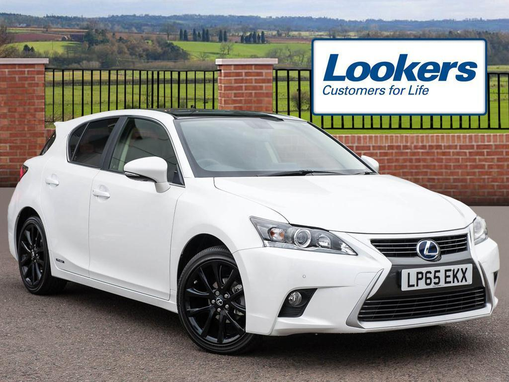 lexus ct 200h 1 8 advance plus 5dr cvt auto white black 2015 12 18 in hatfield. Black Bedroom Furniture Sets. Home Design Ideas