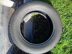 4x4 tyre as new 235/65/17 108V from Volvo XC60