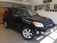 2010 Toyota RAV4 LIMITED 1 OWNER LOCAL TRADE!!!