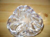 Lead crystal jewelry box