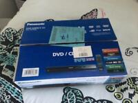 Panasonic DVD player new in box and unused