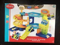 Baby boys my first garage toy - From Hamleys - NEW