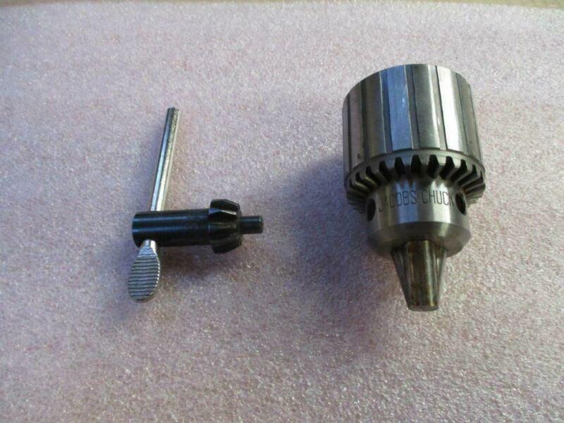 """Jacobs 32B Chuck 0-3/8"""" Capacity 1/2""""-20 Thread USA New"""
