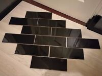 Ceramic Tiles (28 complete tiles, 25 cut tiles)