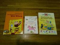 3 German Story Books for Children 4+ - Deutsche Vorlesebücher