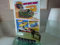 UFO Dinky Shado 2 Mobile vehicle corgi solido matchbox Palitoy Meccano model toy