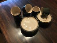 Denby Coffee and Sandwich set