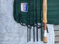 Fishing fly rod