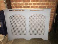 MDF radiator cover 120cm long