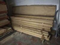 Oak Timber 70 mm sq edge KD European
