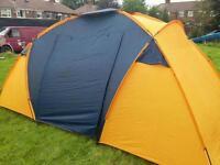Oggie 4 berth family tent used twice