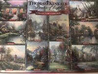 Thomas Kinkade collection of jigsaws