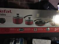 Tefal pots and pans set