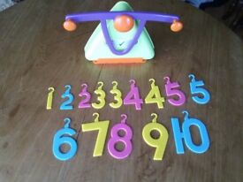 Early Learning Centre Children's Weighing/Adding/Counting Scales