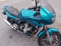 Xj600s diversion in blue