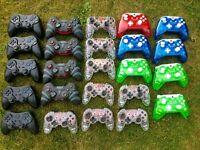 Joblot 24x Customer Returns PS3 & Xbox Controllers