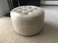 Sherborne Leather Foot Stool
