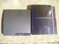 2 PLAYSTATION 3 CONSOLES