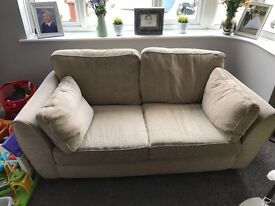 Beige NEXT sofa
