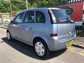 2009 (59 reg) Vauxhall Meriva 1.4 i 16v Club 5dr Low Miles Petrol IMMACULATE!