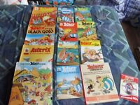 collection of Asterix books from non smoking home
