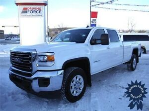 2015 GMC Sierra 3500HD SLE Crew 4x4-Tow Package- 8 foot box