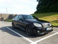 Mercedes C Class C220 CDI Sport Black