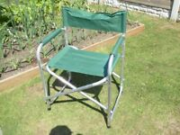 Light Weight , Folding camping / fishing Directors Chair.