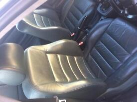 Audi leather seats great condition.