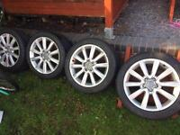 A6 c7 2011 on , alloy wheels 18 inch genuine