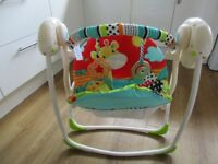 Bright Starts Baby Swing - immaculate condition
