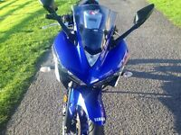 YAMAHA R3 STOLEN RECOVERED HPI CLEAR 65 REG