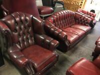 Stunning chesterfield 3 11 sofas set