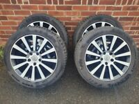 """18"""" load rated alloy wheels to fit VW Transporter T5 T6"""