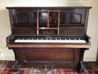 Free upright piano. Good working order but out of tune. Must collect.