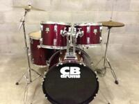 Complete CB Drum Kit Cymbals and drums