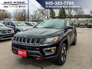 2017 Jeep Cherokee TRAILHAWK, 4X4, GPS NAV, BACKUP CAM, REMOTE S