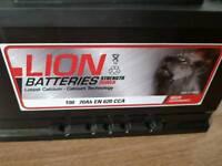 Car batteries 70Ah 620Cca