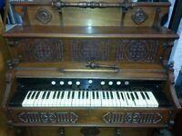 Piano/Harmonium -Antique 1880-1890 Empire Model Napoleon 111 Harmonium by Handel Works John eel Reed