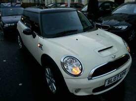 MINI COOPER S WHITE, NEW MOT, SERVICE HISTORY, TURBO, MANUAL,2007
