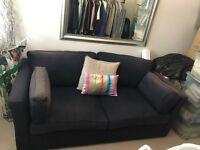 High Quality Denim Blue Sofabed